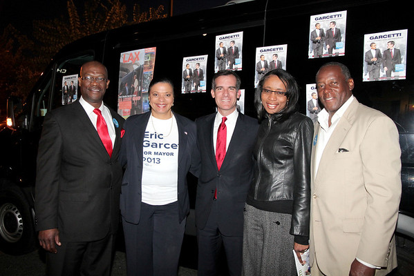 Eric Garcetti for Mayor of Los Angeles - South L.A.  Office Grand Opening 2-23-2013