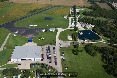 Aerial Photos - Skydive Chicago