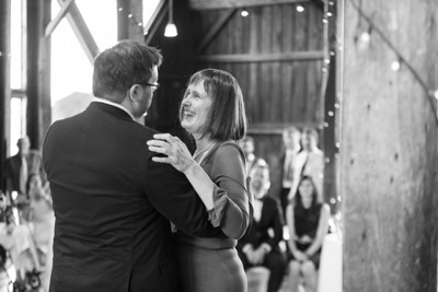 Reception Mother Son Dance- Dana Ouellette & Matt LaMontagne Wedding-The Red Barn At Hampshire College Amherst, MA- New England Connecticut Wedding Photographer