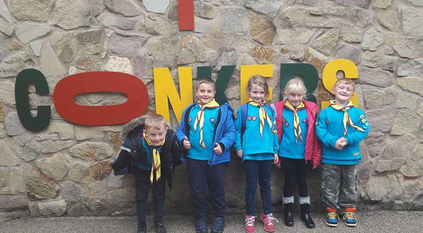 BEAVERS: Visit to Conkers