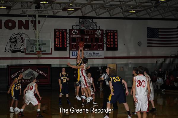Basketball JV Boys at H-D