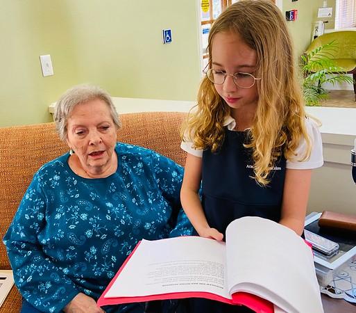Lower Division Chorus Field Trip to Atria Senior Living 2019