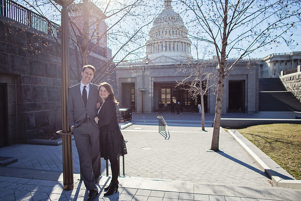 Sarah + Paul: DC Engagements!