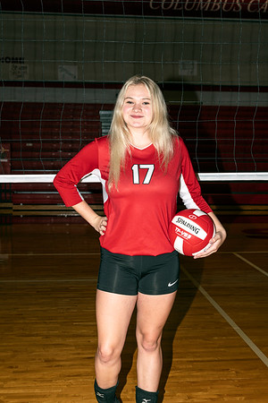 2019 Columbus High School Volleyball Team Pictures