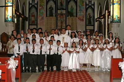 Holy Communion 5-23-09 Class photo