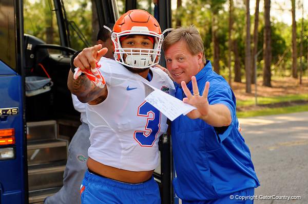 2015 Florida Gators Football Open Fall Practice 8-8-2015