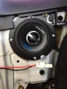 1993 Toyota MR2 Rear Side Panel Speaker Installation - USA
