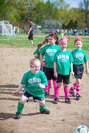 GSA Spring Soccer 2014!