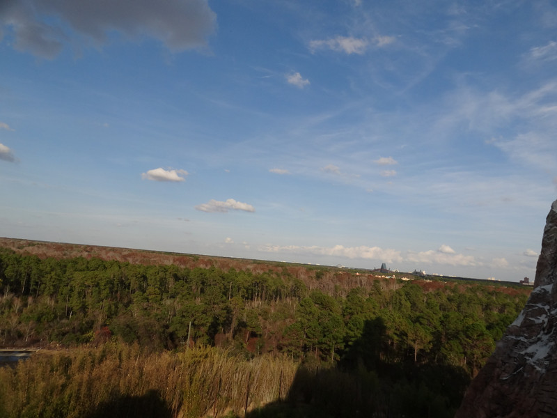 View from top of Expedition Everest