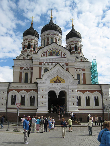 Alexander Nevsky Russian Cathedral in Tallinn, Estonia