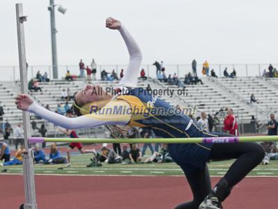 Girls High Jump - 2012 MHSAA LP D2 T&F Finals