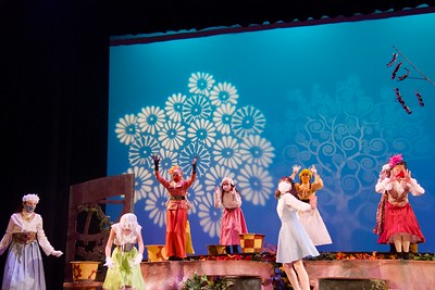 Middle School Fall Play: Alice in Wonderland