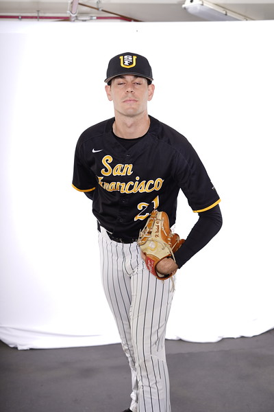 1/17/20: USF BSB Media Day at Benedetti Diamond in San Francisco, CA.  Image by Chris M. Leung for USF Dons Athletics