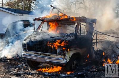 12-19-19 Three Rivers FD - Camper Fire