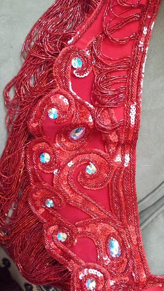 Red Turkish costume $450 NEW