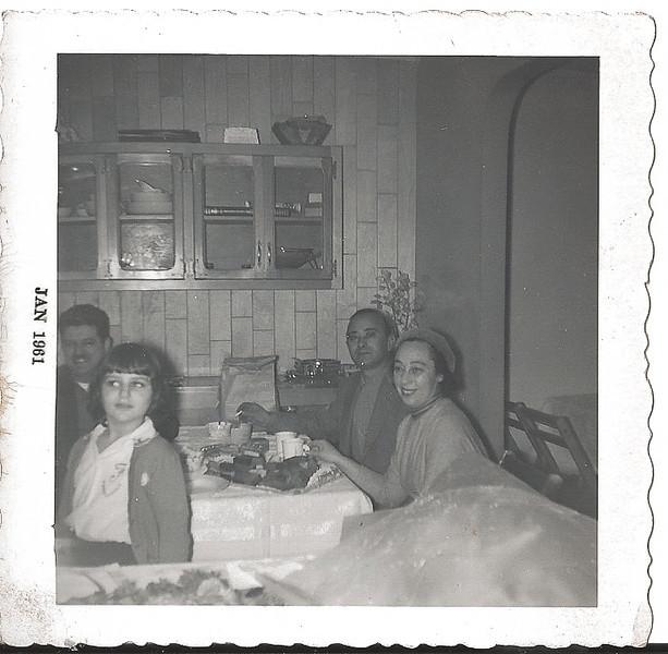 Sol Simon, Felicia Simon, Al Cohen and Tessie Cohen