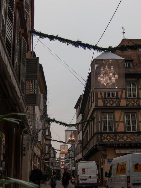 Christmas chandeliers!