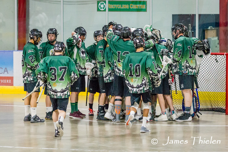 Game, July 13, 2107, Okotoks Marauders vs Calgary Shamrocks