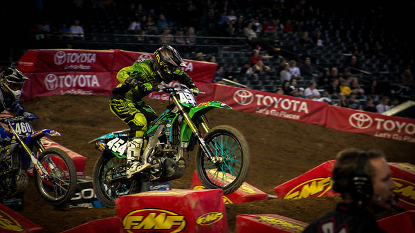 2014 AMA Supercross Round 2 Phoenix-Colton Keeling