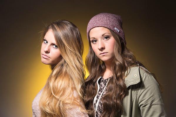 Olivia&Kristin | Studio Portraits