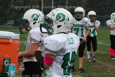 WBLW 5th Grade Football vs Canton South