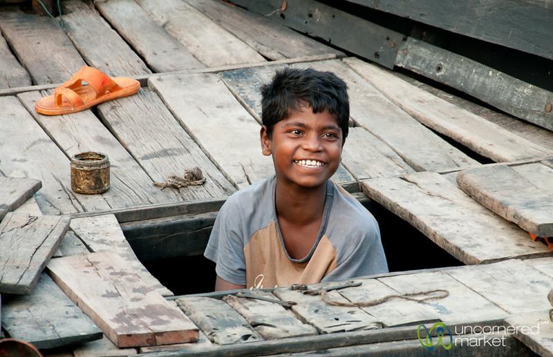 Boat Boy - Sundarbans, Bangladesh