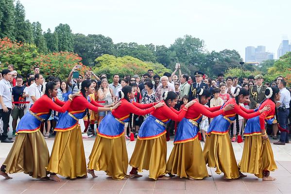 Passion Art Deepavali Performance @ Istana