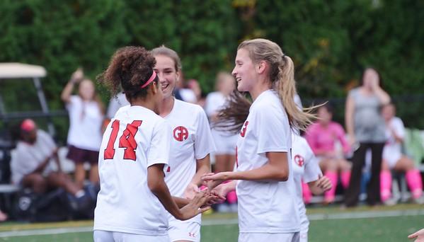 Varsity Girls Soccer:  GA vs Lawrenceville