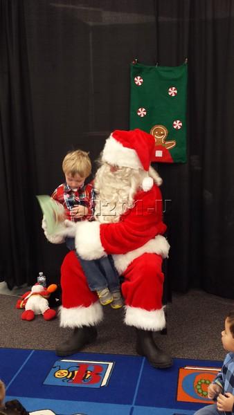 Santa Visit 2013