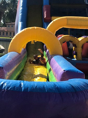 3rd and 4th waterslide