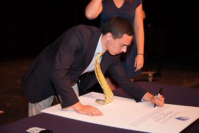 Upper School Honor Code Signing