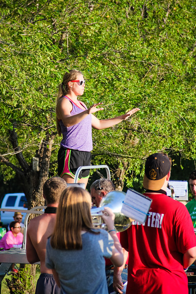 20140808 Rose Hill Rockets Band Camp
