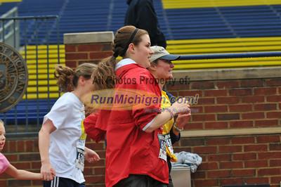 5K Finish - 2012 Big House Big Heart Run
