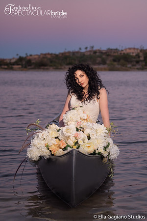 Vegas Vistas Spectacular Bride Photoshoot 2019