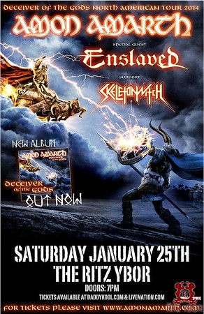 Amon Amarth January 25, 2014