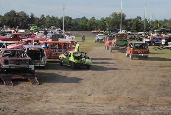 2015 Benton County Fair Demolition Derby
