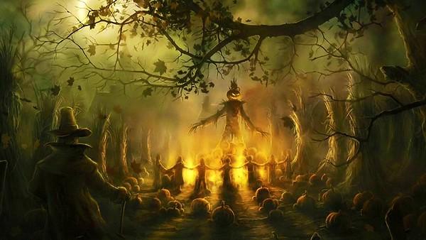 Halloween Green Screen