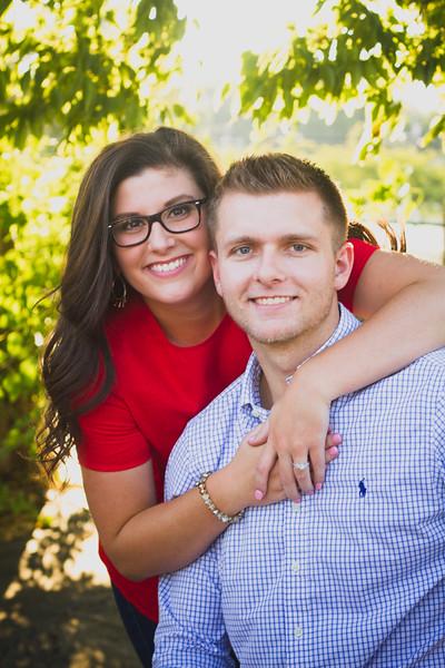 Leah & Seth. Engaged