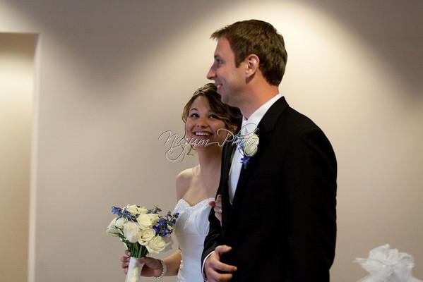 Receiving Line - Sheri and Ryan