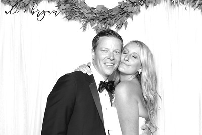 Ali+Bryan ~ Wedding Photobooth