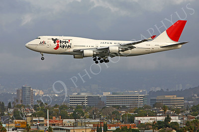 Japan Airline Boeing 747 Airliner Pictures