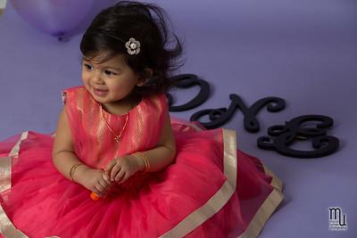 Akshara's First Birthday
