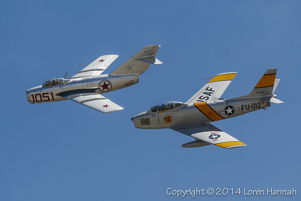 JETS - Planes of Fame 2014 Airshow - Chino, CA