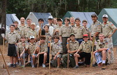 Boy Scout Troop 555 Through the Years