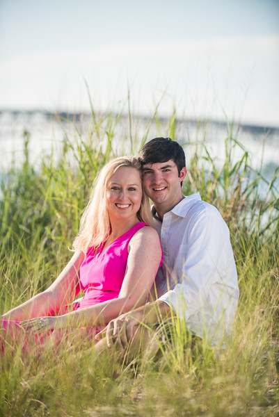 Alex + Zach - Yorktown Beach Engagement