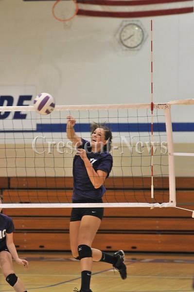 10-02-14 Sports Van Wert @ DHS V-Ball