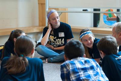 2014 8th grade Courage Retreat