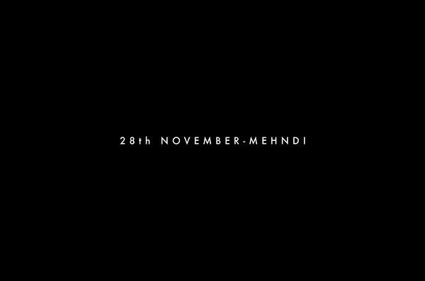 28th November-Mehndi