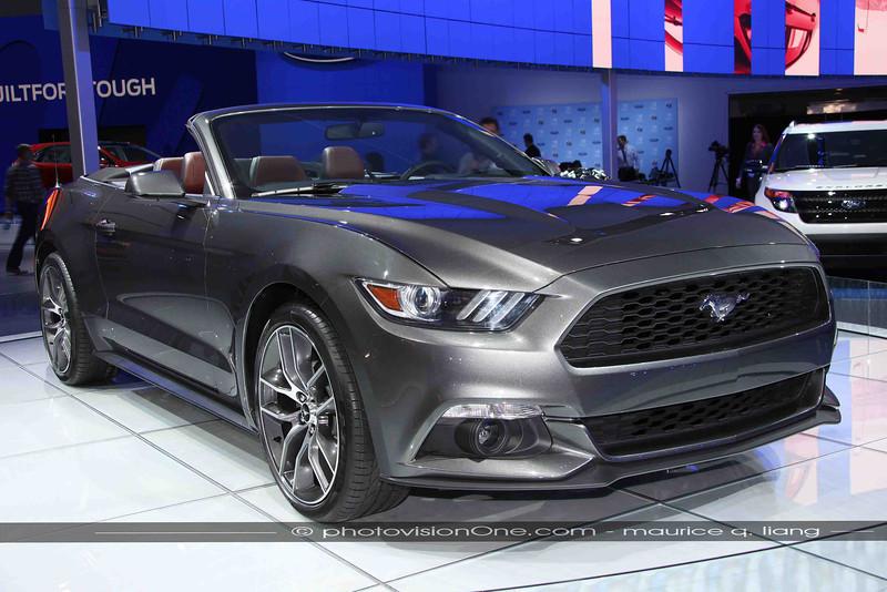 New Mustang convertible.