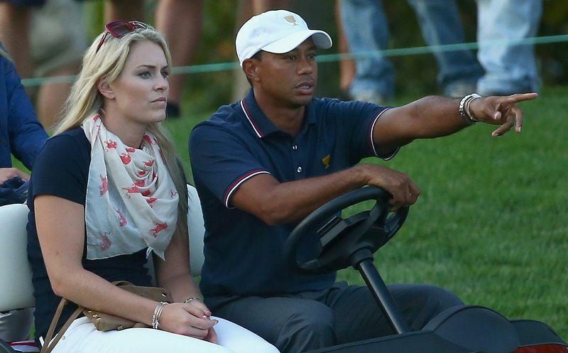 ". <p>9. TIGER WOODS & LINDSEY VONN <p>He�s planning to cheer her on in Sochi ... from his living room in Florida. (unranked) <p><b><a href=\'http://msn.foxsports.com/golf/story/tiger-woods-lindsey-vonn-nasty-arguments-over-sochi-olympics-110713\' target=""_blank\""> HUH?</a></b> <p>    (Andy Lyons/Getty Images)"